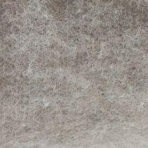 Taśma filcowa, doniczkowa szara natura 15cm 5m