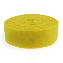 Taśma filcowa żółta 7,5cm 5m