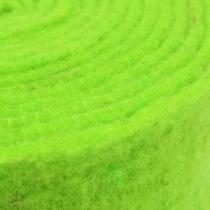 Taśma filcowa zielona 7,5cm 5m