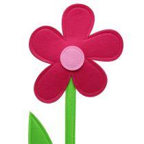 Kwiatek filcowy różowy 120cm