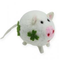 Filc szczęśliwa świnka 7cm 3szt.