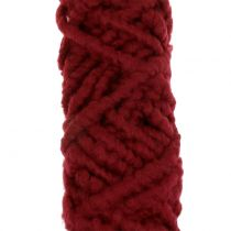 Sznurek filcowy włókninowy Mirabell 25m ciemnoczerwony