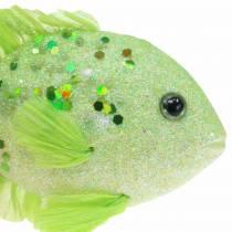 Ozdobne rybki do zawieszenia zielone różowe pomarańczowe niebieskie 13-24cm 6szt.