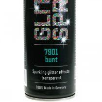 Glitter spray do craftingu kolorowa farba w sprayu tinsel 400ml