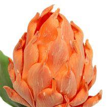 Karczoch piankowy pomarańczowy 14cm L28cm 1szt.