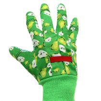 Kixx Rękawiczki damskie Rozmiar 8 Zielone z motywem