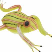 Żabki dekoracyjne z drutu 7cm 3szt. asortyment