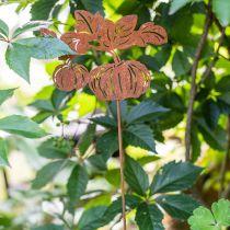 Wtyczka ogrodowa Dynia Rdza Dekoracja Ogrodu Jesień Metal 57cm