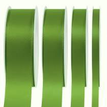 Wstążka prezentowa i dekoracyjna zielona 50m