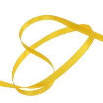 Wstążka prezentowa żółta 6mm x 50m