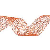 Wstążka prezentowa pomarańczowa 3cm 10m