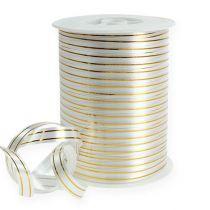 Taśma dzielona 2 złote paski na srebrnym tle 10 mm 250m