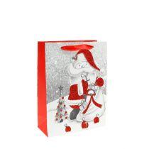Worek prezentowy Mikołaj 24cm x18cm x 8cm