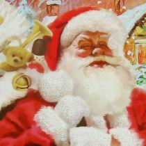 Worek na prezenty Mikołaj 24cm x 18cm x 8cm
