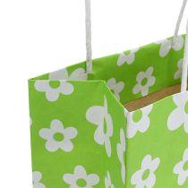 Torebki prezentowe zielone 20cm x 11cm x 25cm 8szt.