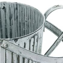 Metalowa puszka do sadzenia, konewka do dekoracji, sadzarka Ø17cm