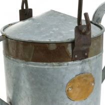Deco Watering Can Metal Planter Retro Look Potting Shed 58×23×32cm