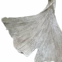 Dekoracja nagrobna Liść miłorzębu do powieszenia 10cm 3szt.