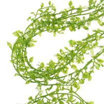 Girlanda roślinna z jagodami zielona L122cm