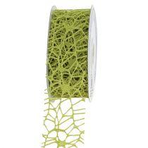 Taśma kratowa zielona 40mm 10m