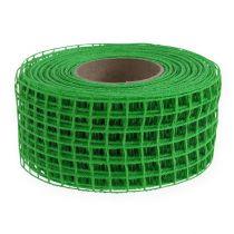 Taśma kratowa 4,5cmx10m zielona
