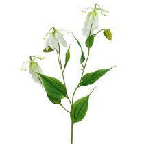 Gloriosa biała sztuczna 84cm 3szt.