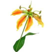 Gloriosa gałązka pomarańczowo-żółta 90cm 1szt.