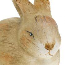 Królik ceramiczny natura 8,5cm x 12cm 3szt.