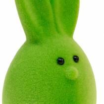 Mieszanka jajek wielkanocnych z uszami, flokowane jajka królicze, kolorowe ozdoby wielkanocne 6szt
