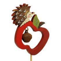Jeż jesienny z jabłkiem 7cm 12szt.