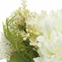Chryzantema Bukiet Mix Biały 35cm