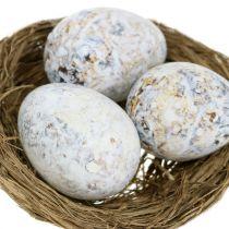 Asortyment jaj gęś, kurczak i przepiórka 3,5cm - 8cm 12szt