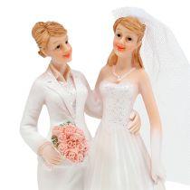 Figurka ślubna kobieta para 17cm