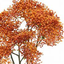 Elder Orange Sztuczna gałązka kwitnąca 52cm 4szt.