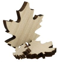 Liście drewniane, klonowe mix 2,5cm - 7cm 36szt.