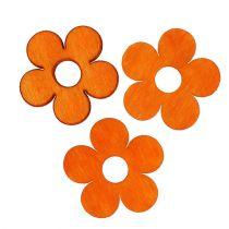 Kwiat drewna do rozsypywania pomarańczy 4cm 72szt