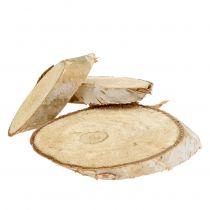 Krążki drewniane brzozowe owalne 5cm - 20cm 500g