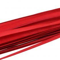 Pasek drewniany warkocz czerwony 95cm - 100cm 50szt.
