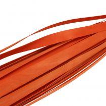 Listwy drewniane do zaplatania pomarańczowe 95cm - 100cm 50szt.