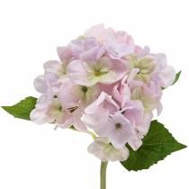Hortensja sztuczna jasnofioletowa 36cm