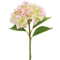 Hortensja sztuczna jasnoróżowa 36cm
