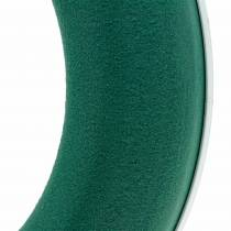 OASIS® Pierścień do wianka z pianki wpinanej zielony H3cm Ø25cm 6szt.