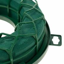 OASIS® IDEAL uniwersalny pierścień wtykany wieniec piankowy zielony H4cm Ø18,5cm 5szt.