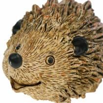 Figurka dekoracyjna jeż natura 6,5cm
