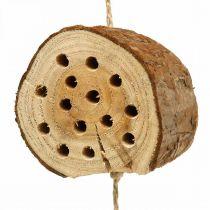 Insect hotel drewno H65cm Nesting pomoc do powieszenia