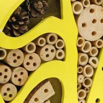 Hotel dla owadów okrągły żółty Ø25cm