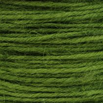 Sznurek jutowy zielony Ø2mm 100g