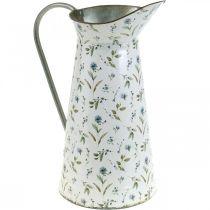 Deco Pot Metal Vintage Flower Vase Garden Decoration Planter H33cm