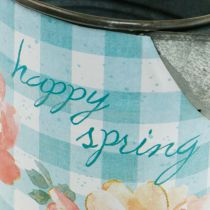 Flower Vase Decorative Pot Metal Vintage Garden Decoration Planter H23cm