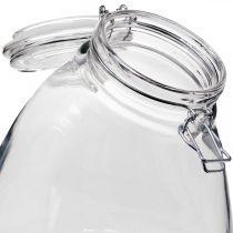 Szklanka do herbatników duża przezroczysta 22cm
